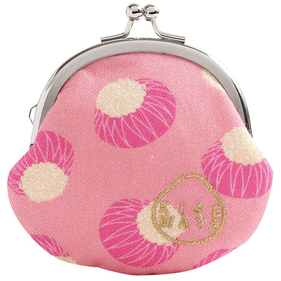 Mini Purse/Pink Chrysanthemum Rice Cakes