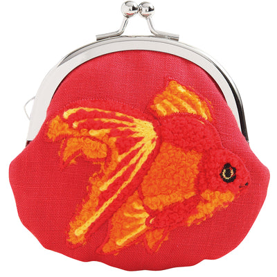 Mini Purse/Ryukin Goldfish[Red]