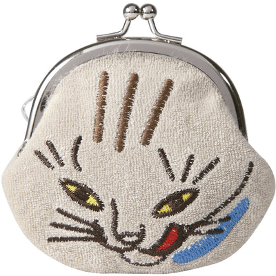"Mini Purse/""Tora"" Tiger Cat"