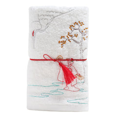 Face Towel/January in Edo