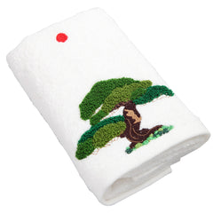 Face Towel/Japanese White Pine (White)