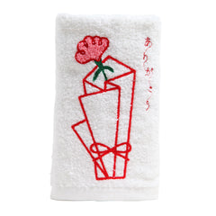 Face Towel/Flower wrapper