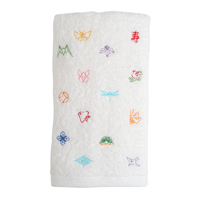 Face Towel/Amulets [White]