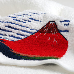 Face Towel/Red Fuji