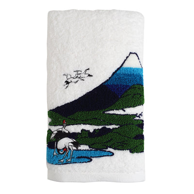 Face Towel/Blue Fuji