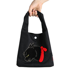"Cat Mini Bag/""Kuro"" Black Cat"