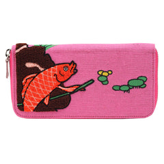 Wallet Long/Goldfish & Cat