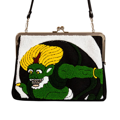 Clutch bag/Fujin and Raijin