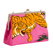 Clutch bag/Dragon And Tigers Screen