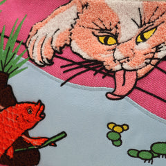 Clutch Bag/Goldfish & Cat