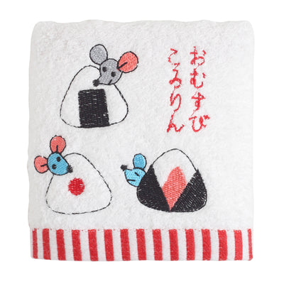 Hand Towel/The Rolling Rice Balls