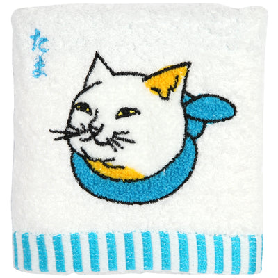 "Hand Towel/""Tama"" Calico Cat"