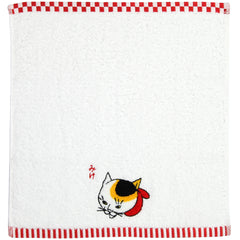 "Hand Towel/""Mike"" Japanese Bobtail"