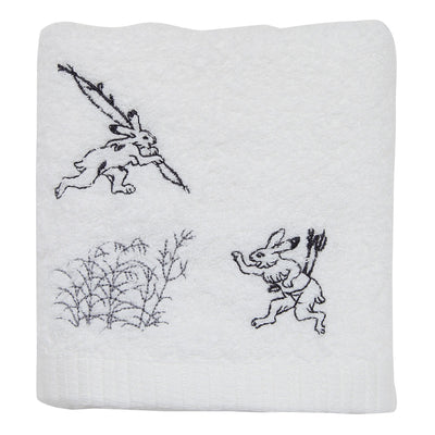 Hand Towel/Hare Arriving Late