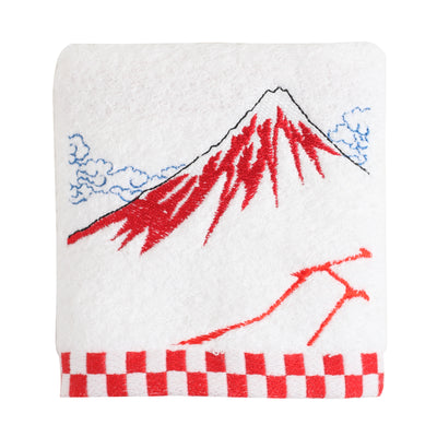 Hand Towel/Black Fuji
