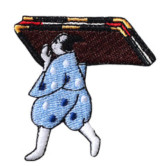 Patch/Man carrying sliding doors