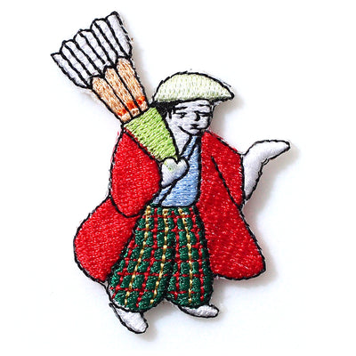 Man carrying whistling arrows