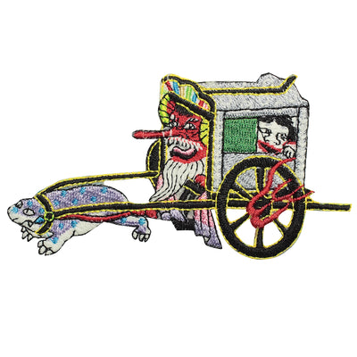 Patch/Oboroguruma the oxen cart