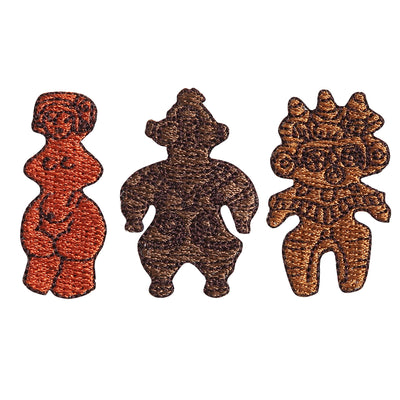Patch/Clay Figures Set #1