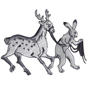 Patch/Hare Leading A Deer