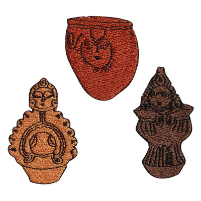 Patch/Ancient Pottery Set #5