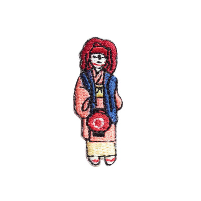 Patch/Gion Festival Shaguma Child in Red Wig