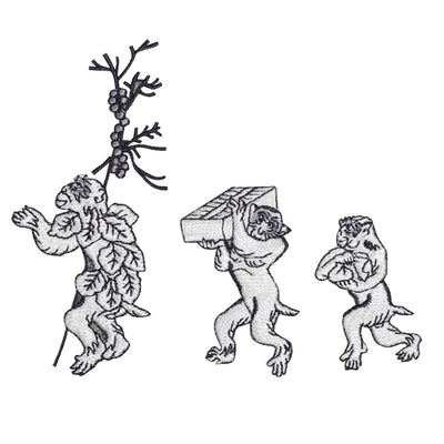 Patch Set/Three monkeys