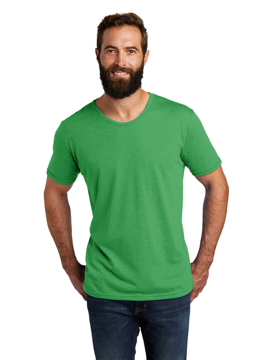 Allmade Men's Enviro Green Tri-Blend Short Sleeve Crew Neck T-Shirt | Allmade® Apparel