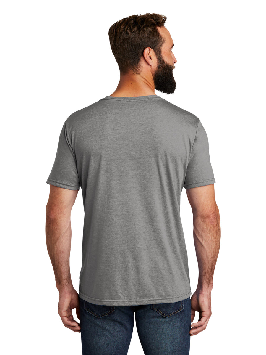 Allmade Men's Aluminum Grey Tri-Blend Short Sleeve Crew Neck T-Shirt | Allmade® Apparel