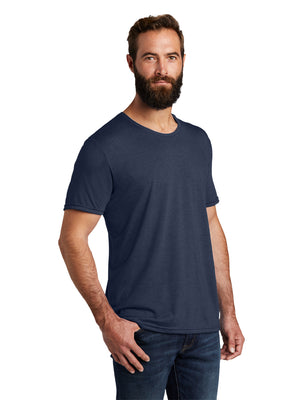 Allmade Men's Rebel Blue Tri-Blend Short Sleeve Crew Neck T-Shirt | Allmade® Apparel