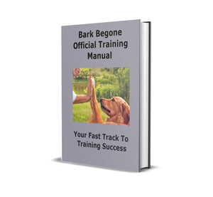 Bark Begone Official Training Guide