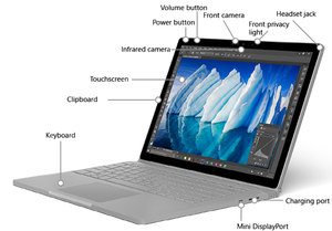 Microsoft SurfaceBook 1
