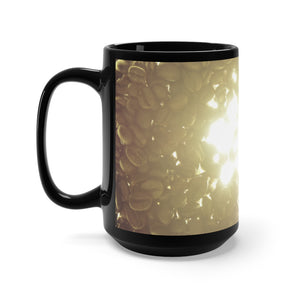 Sunshine and Coffee mug left side