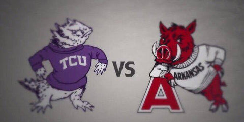 Razorbacks vs TCU