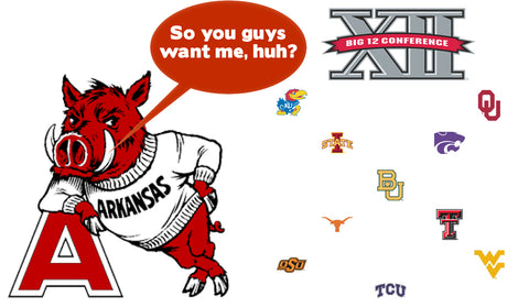 Razorbacks to Big 12: Selling our Southern Souls