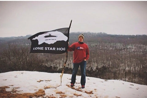 Lone Star Hog Sweatshirts are back in action