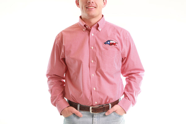 Texas Tusk Button Down