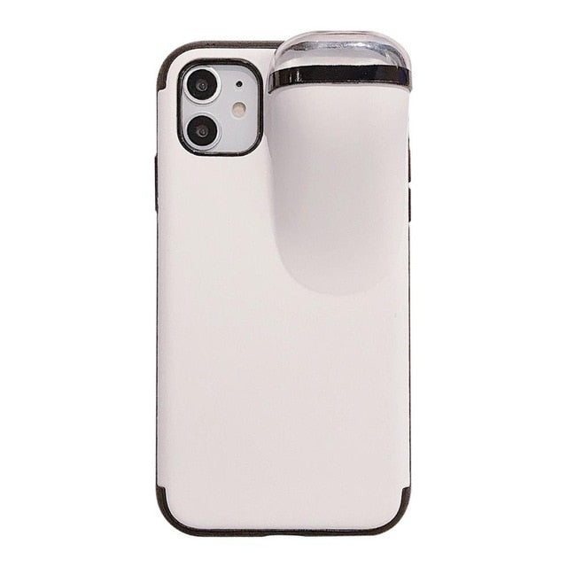 2 in 1 Phone Case with Earphone case for Airpods