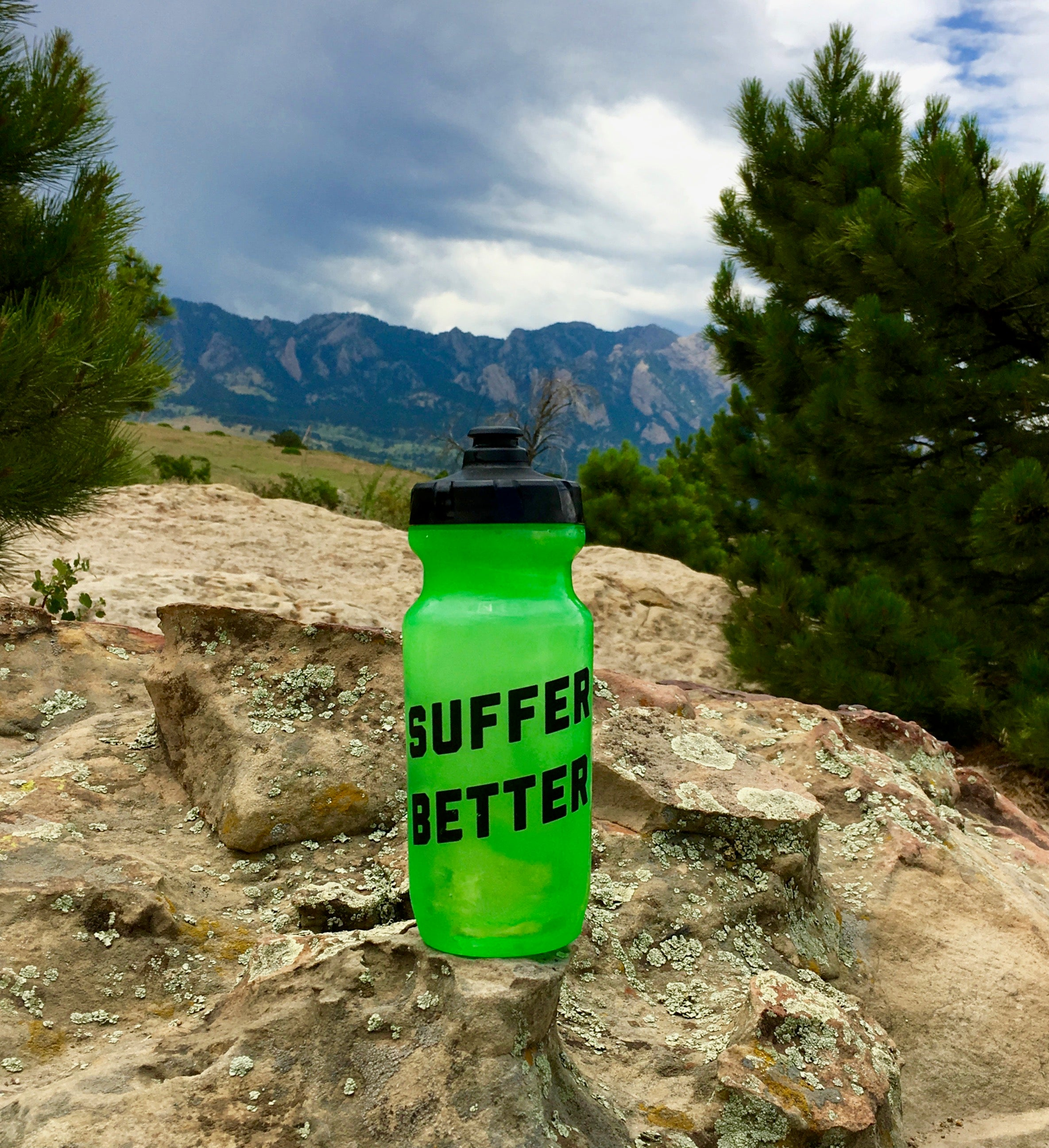 Suffer Better Water Bottle