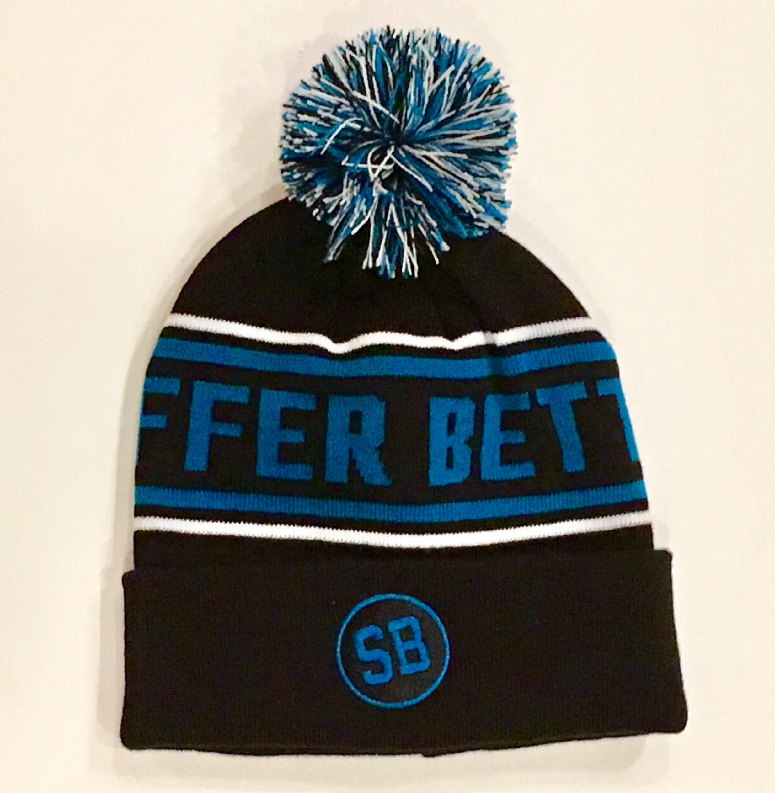 Suffer Better Pom Hat