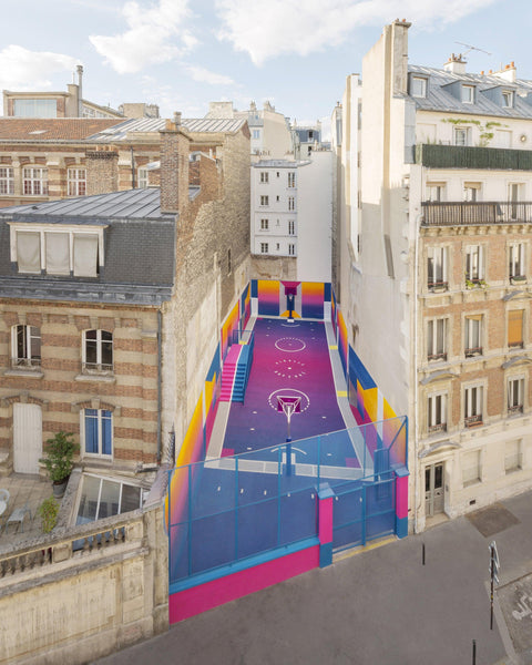 Pigalle Colorful Basketball Court