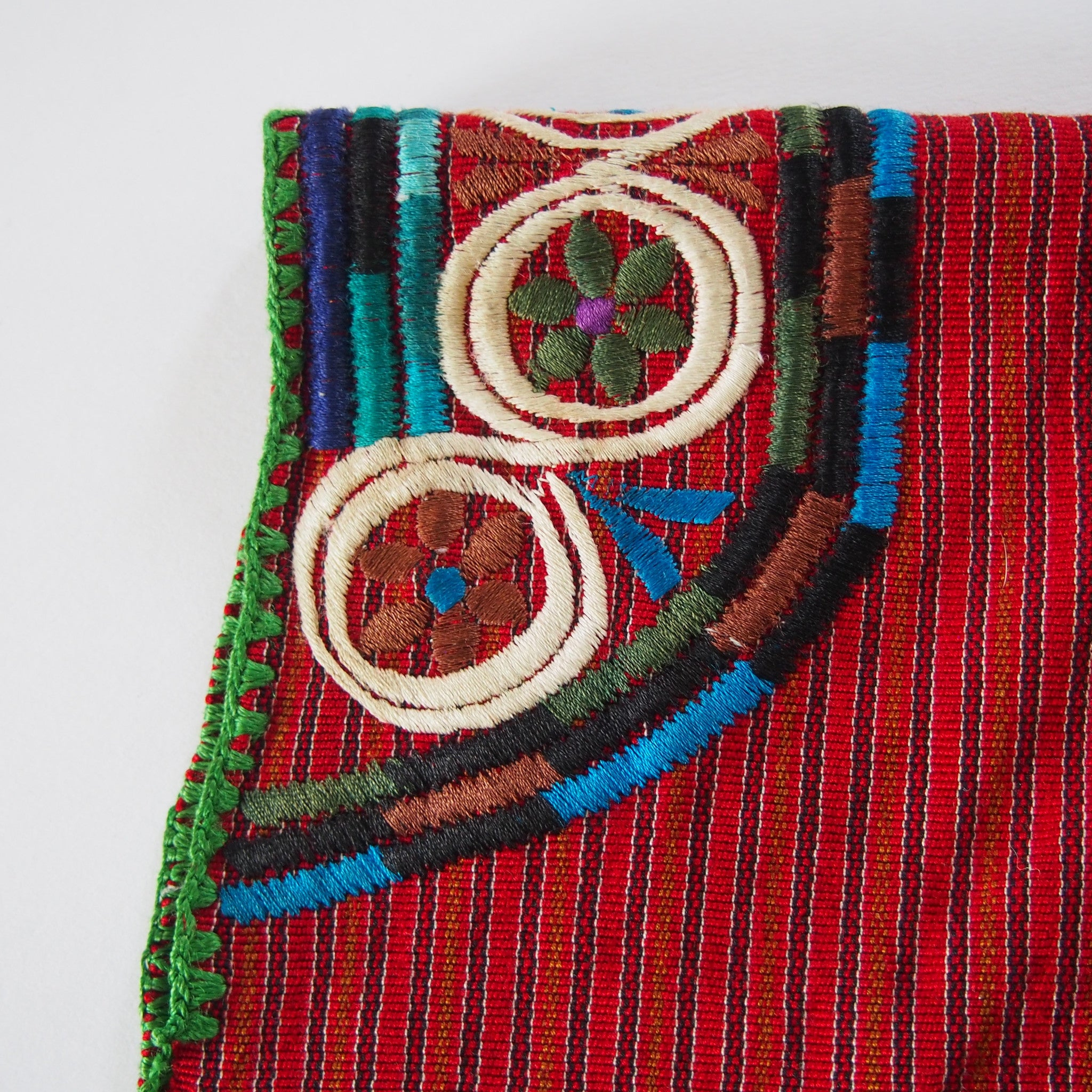 LOOM Imports -Poncho - Red and Blue