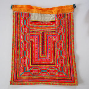 LOOM Imports -Vintage Hill Tribe Pink Thai Textile