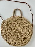 LOOM Imports -Moroccan Summer Tote with Leather Strap