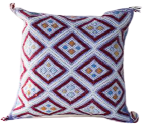 Lavender Diamond Pillow