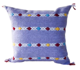 Lavender Stripe Diamond Pillow