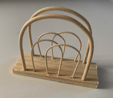 LOOM Imports -Wooden Napkin Holder
