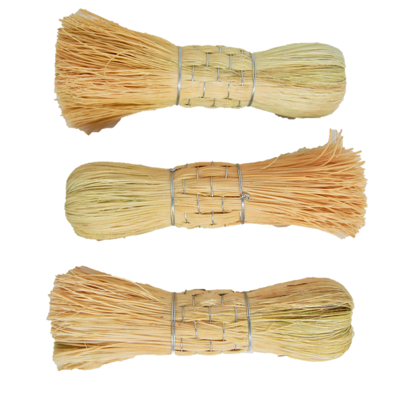LOOM Imports -Straw Scrub Brushes
