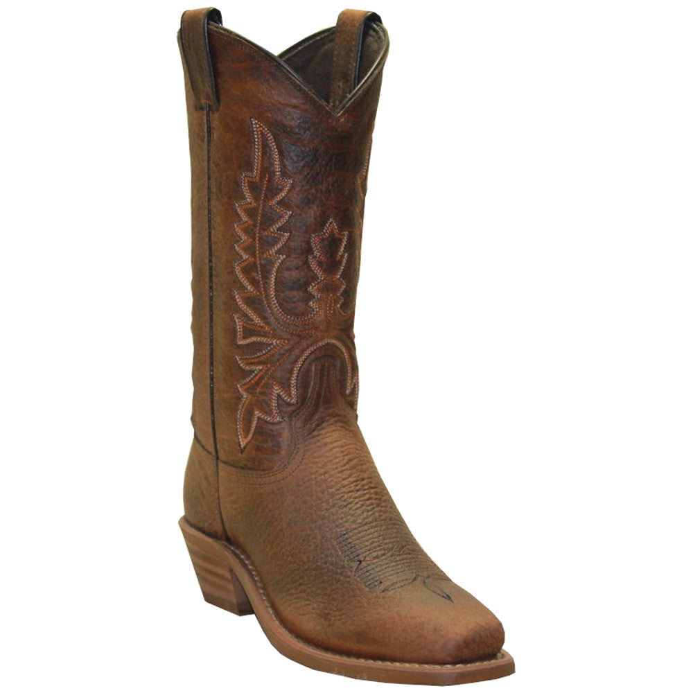 Abilene Women's Tan Bison Cowgirl Boots