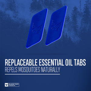 Skeeter Hawk Repellent Tabs - Refill Pack of 2